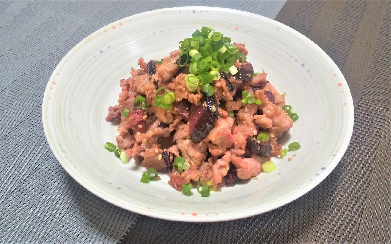 漬物と豚肉のササッと炒め