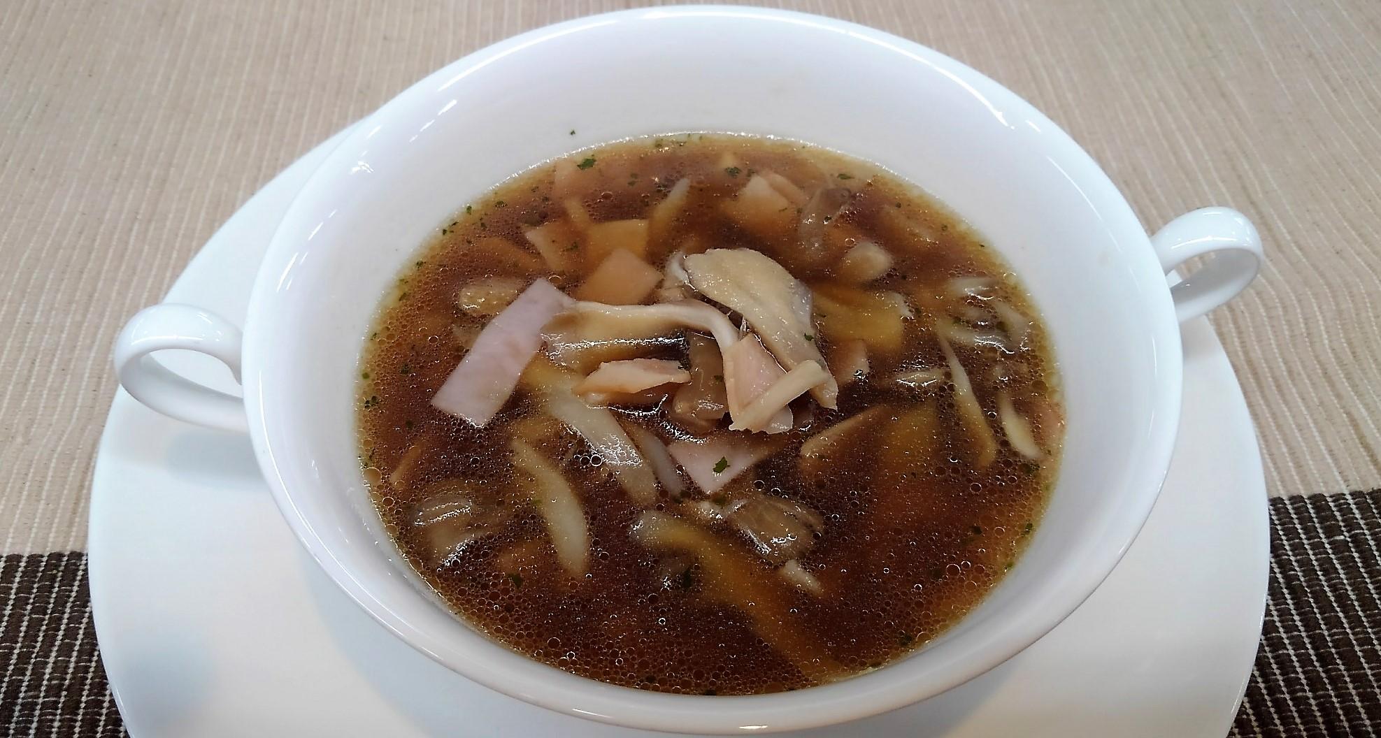 食べる!まいたけスープ