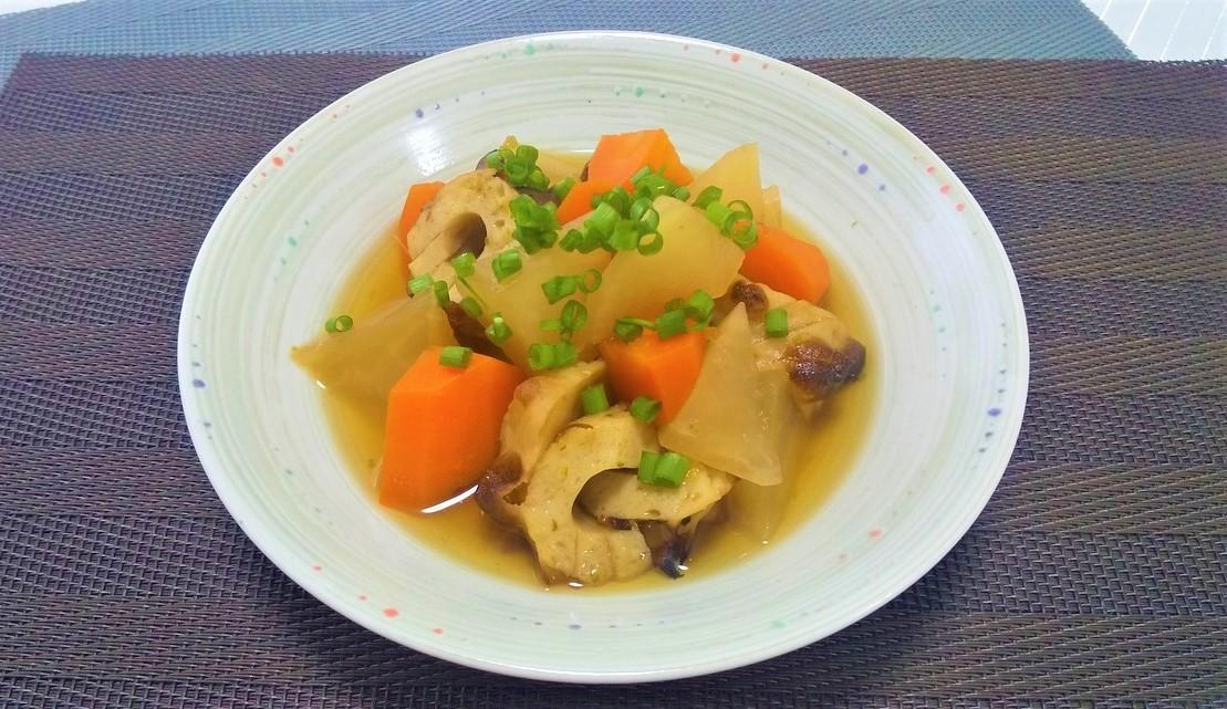 竹輪と根菜のやわらか煮