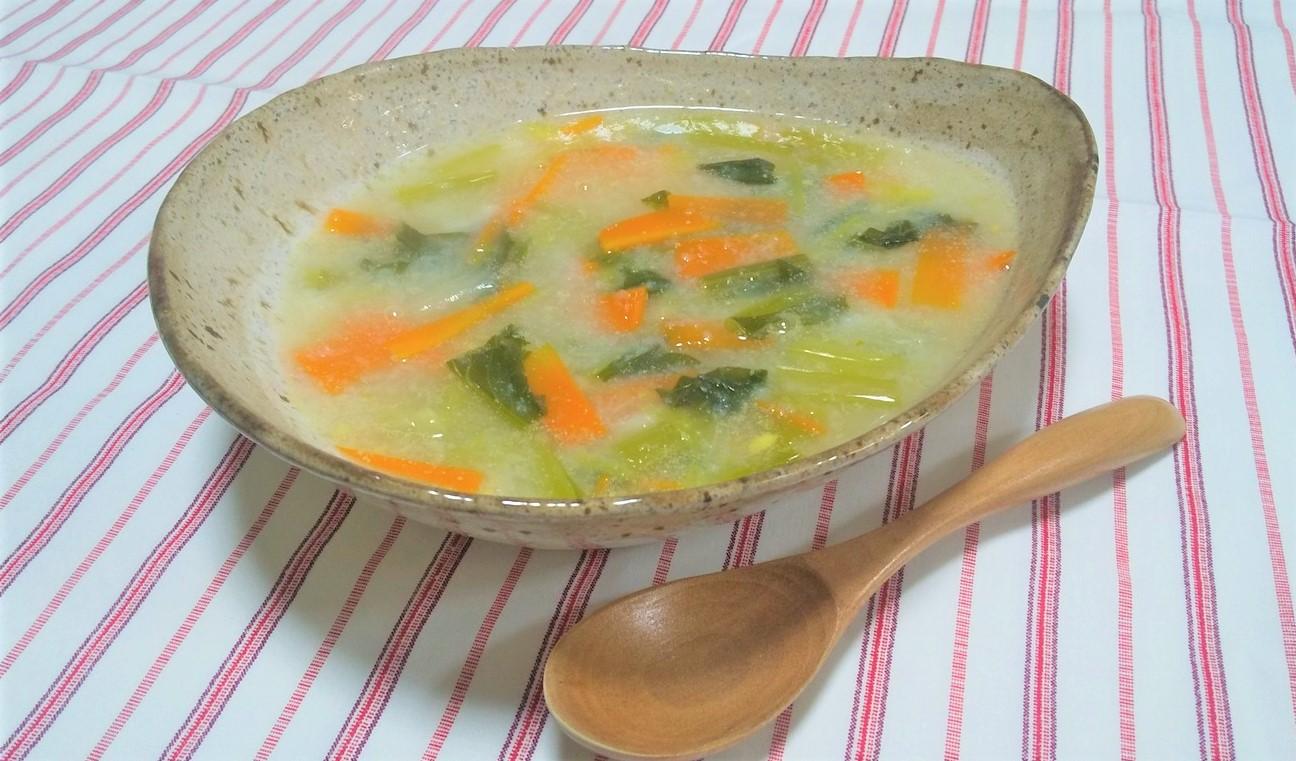 長芋の具沢山とろみスープ